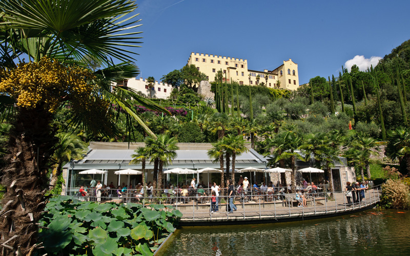 Schlossgarten Restaurant And The Palm Café At The Water Lily Pond